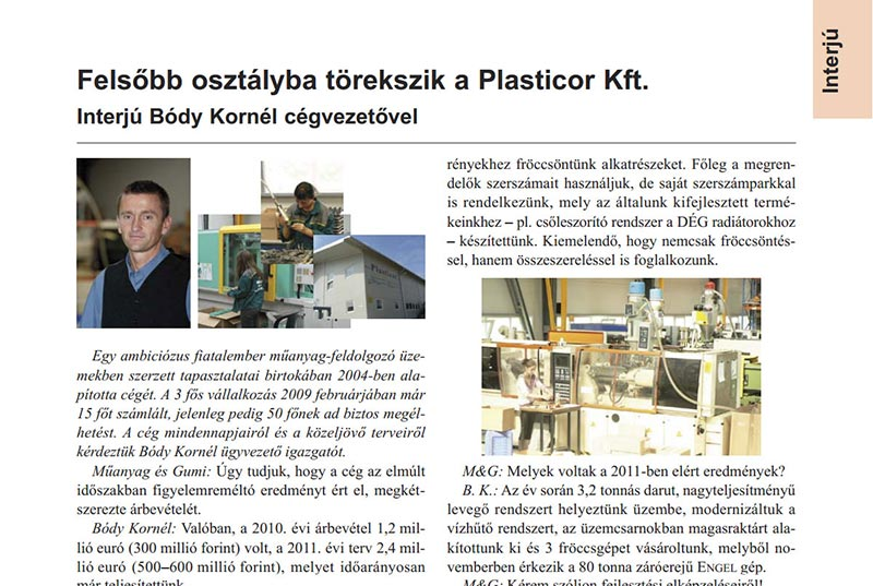 Press Releases | Plastic injection molding